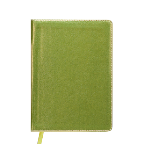 Ежедневник датированный 2019 METALLIC, A6, желтый