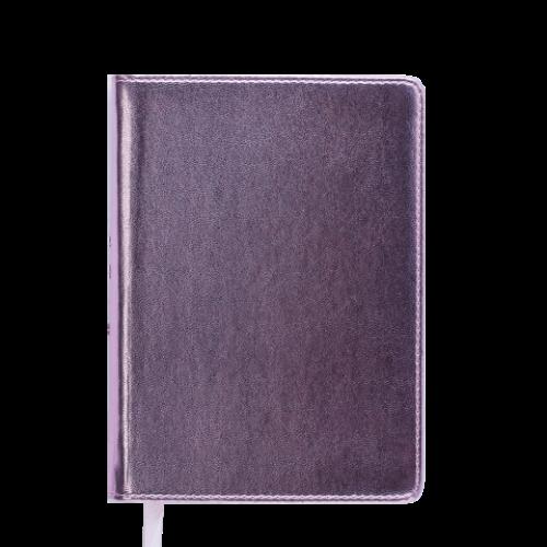 Ежедневник датированный 2019 METALLIC, A6, розовый