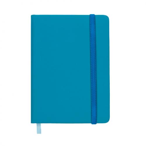 Ежедневник датированный 2019 TOUCH ME, A6, голубой