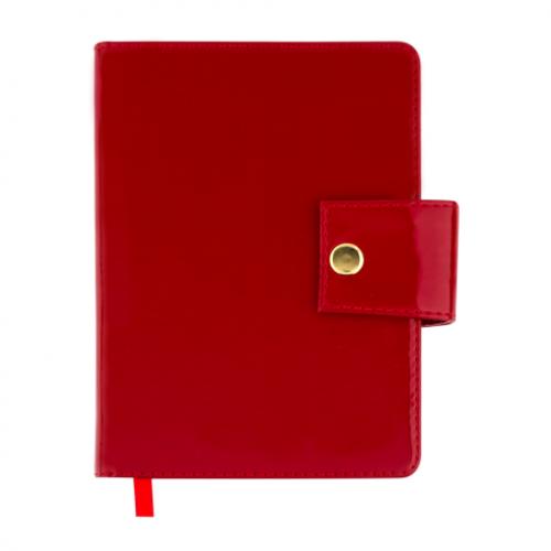 Ежедневник датированный 2019 DREAM, A6, 336 стр. красный