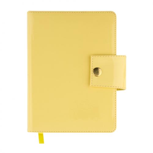 Ежедневник датированный 2019 DREAM, A6, 336 стр. желтый