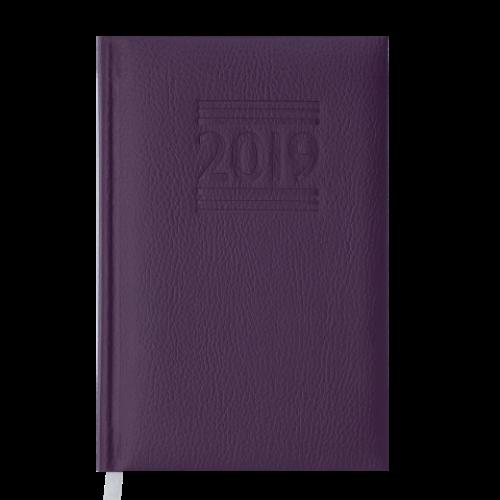 Ежедневник датированный 2019 BELCANTO, A6, 336 стр., фиолетовый