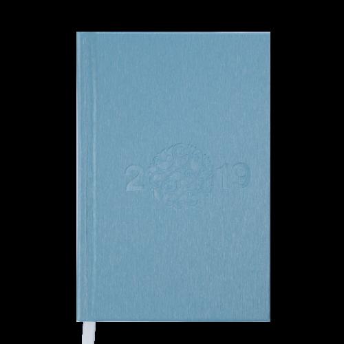 Ежедневник датированный 2019 GLORY, A6, 336 стр., голубой