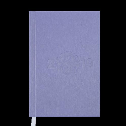 Ежедневник датированный 2019 GLORY, A6, 336 стр., сиреневый