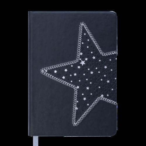Ежедневник датированный 2019 STELLA, A6, 336 стр., черный