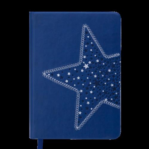 Ежедневник датированный 2019 STELLA, A6, 336 стр., синий