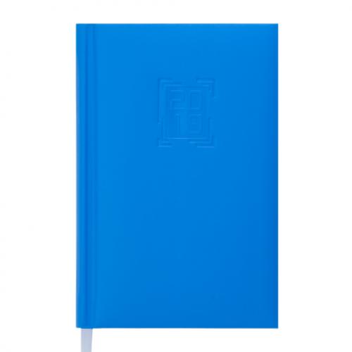 Ежедневник датированный 2019 MEMPHIS, A6, 336 стр., голубой