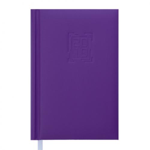 Ежедневник датированный 2019 MEMPHIS, A6, 336 стр., сиреневый