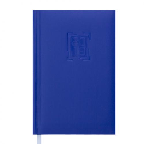 Ежедневник датированный 2019 MEMPHIS, A6, 336 стр., синий электрик