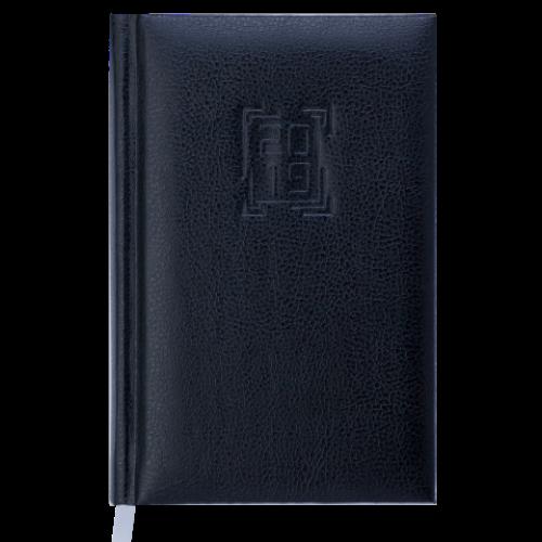 Ежедневник датированный 2019 REDMOND, A6, 336 стр., черный