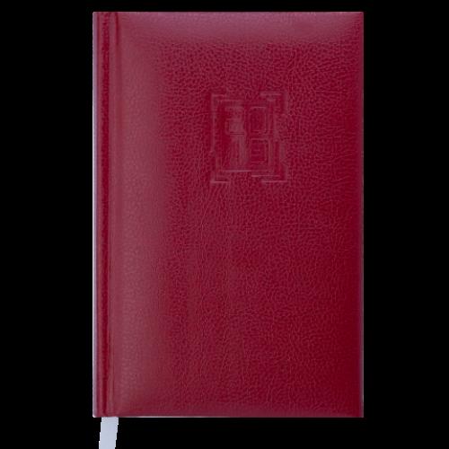 Ежедневник датированный 2019 REDMOND, A6, 336 стр., бордовый