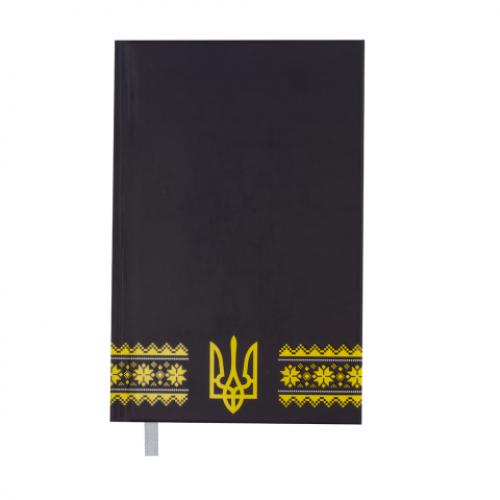 Ежедневник датированный 2019 UKRAINE, A6, 336 стр., т.-синий