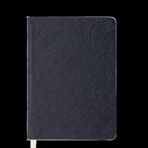 Ежедневник датированный 2019 FLEUR, A6, 336 стр., черный