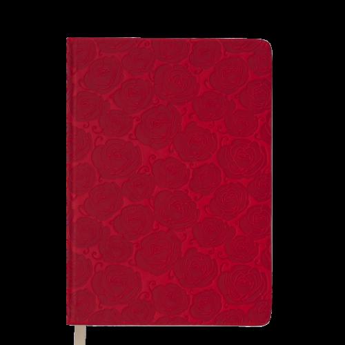 Ежедневник датированный 2019 FLEUR, A6, 336 стр., красный