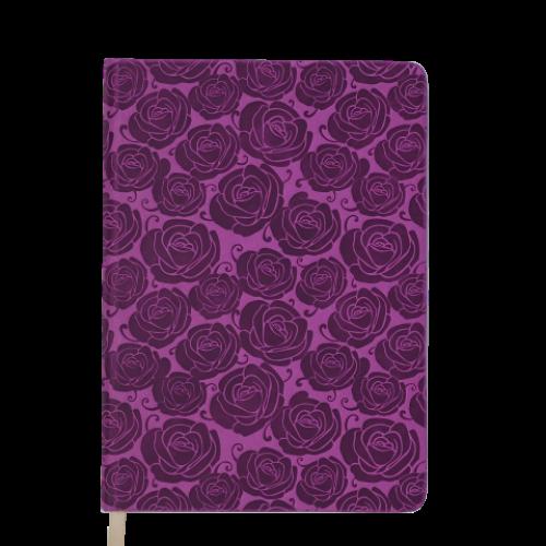 Ежедневник датированный 2019 FLEUR, A6, 336 стр., розовый