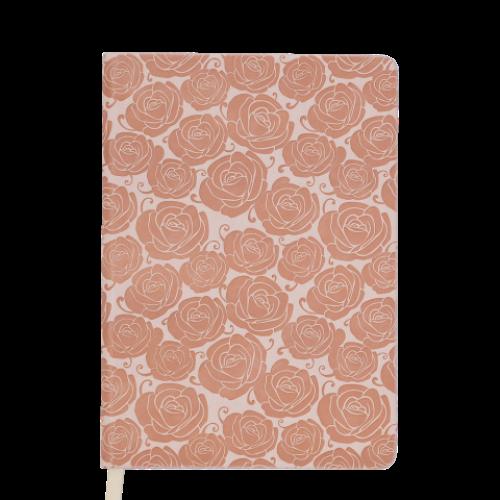 Ежедневник датированный 2019 FLEUR, A6, 336 стр., бежевый