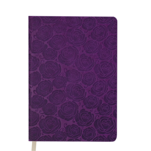 Ежедневник датированный 2019 FLEUR, A6, 336 стр., вишневый