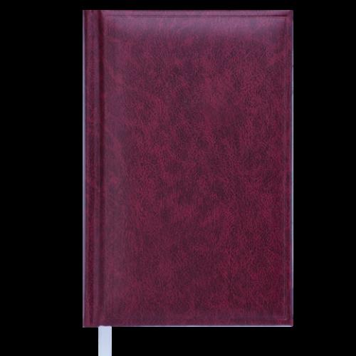 Ежедневник недатированный BASE(Miradur), A6, 288 стр., бордовый