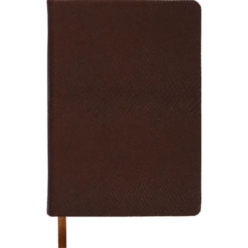 Ежедневник недатированный AMAZONIA, A6, 288стр. коричневый