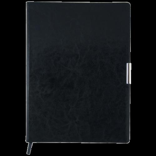 Ежедневник датированный 2019 SALERNO, A4, 336 стр. черный