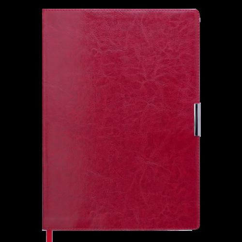 Ежедневник датированный 2019 SALERNO, A4, 336 стр. красный