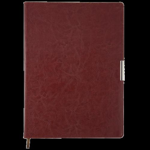 Ежедневник датированный 2019 SALERNO, A4, 336 стр. коричневый