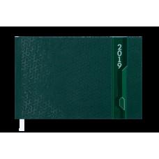 Еженедельник карманный датированный 2019 VELVET, 136 стр., зеленый