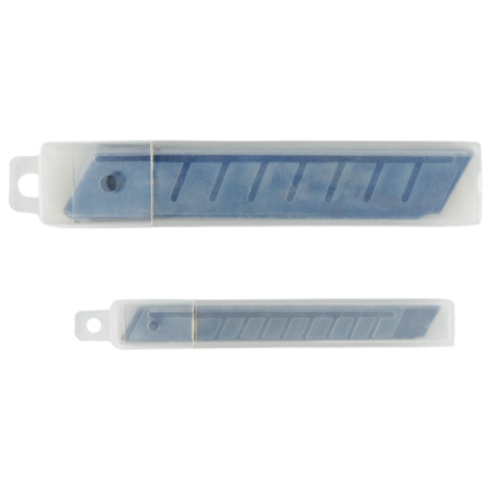 Лезвия для ножей BUROMAX 9 мм (10 лезвий в упаковке)
