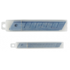 Лезвия для ножей BUROMAX 18 мм (10 лезвий в упаковке)