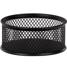 Подставка для скрепок BUROMAX, металлическая, черная