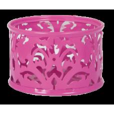 """Подставка для скрепок """"BAROCCO"""", металлическая, розовый"""