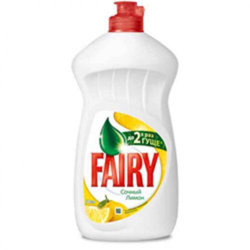 Средство для посуды FAIRY, 500мл, Сочный лимон