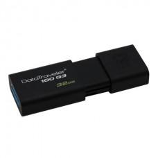Флеш-память Kingston DataTraveler 100 G3 32GB Black