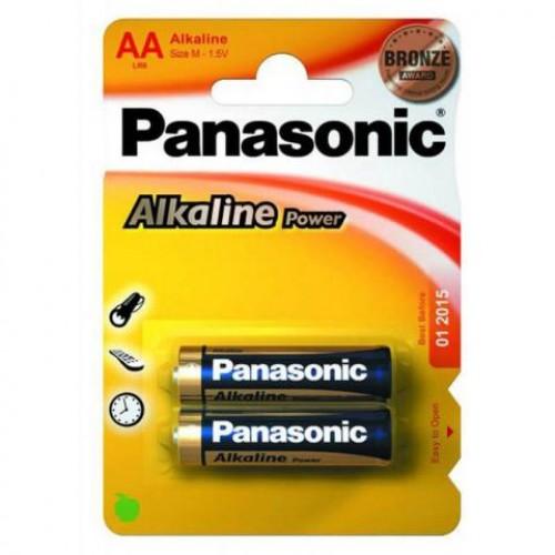 Батарейка Panasonic ALKALINE POWER LR6 (AA)