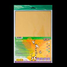 Набор бумаги цветной бархатной, 10 листов: 10 цветов