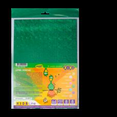 Набор цветного голографического картона, 8 листов А4, 8 цветов