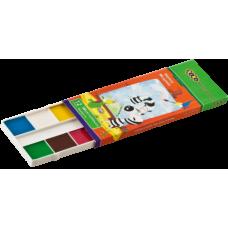 Акварельные краски 12 цветов, картонная упак.