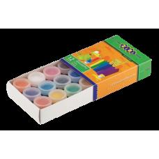 Гуашевые краски 12 цветов по 10 мл