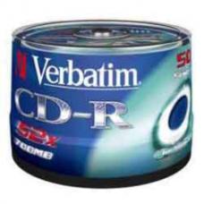 Диск CD-R, 700Mb, 52х, 80min, Cake(50), Extra