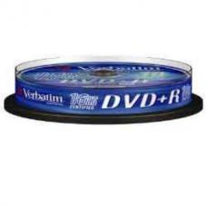 Диск DVD+R,4.7Gb,16х, Cake(10), Silver