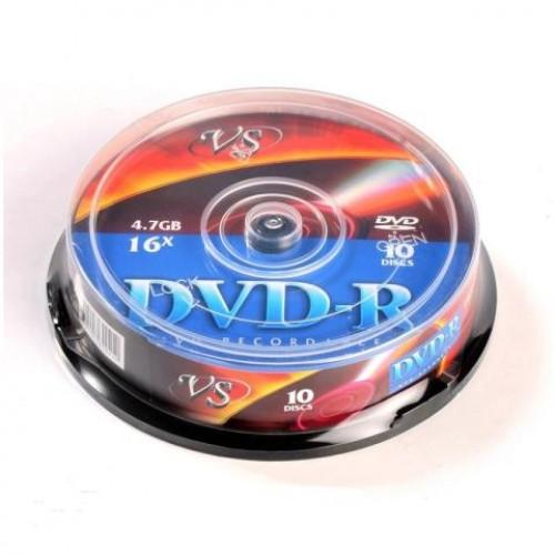 Диск DVD-RW 4,7Gb 16х Cake(10)