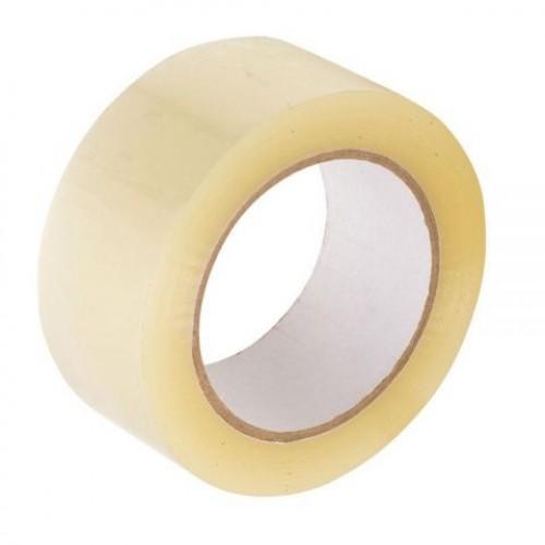 Скотч упаковочный прозрачный 48мм*100м 50мкм