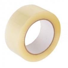Скотч 48 * 66м * 44мкм упаковочный прозрачный  каучук