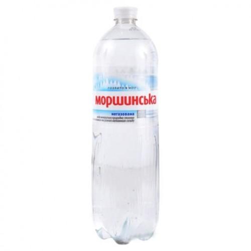 """Вода минеральная негазированная, 1,5л, """"Моршинская"""", ПЭТ"""