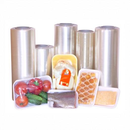 Пленка пищевая упаковочная ПВХ 380/1000/8,5