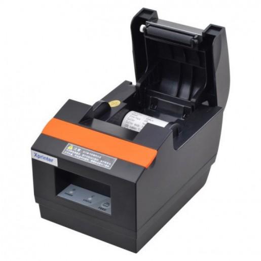 Принтер для печати чеков Xprinter XP-Q90EC USB+Ethernet с автоматической обрезкой чека