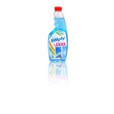 "Средство для мытья стекол ""SIMply"" 0.5л (запаска)"
