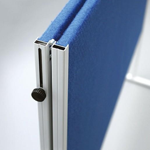 Пробковая поверхность, складывающаяся, на колесиках 120 × 150