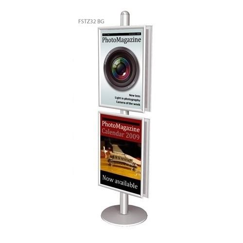 """Доска плакатная для """"Free Standing Unit"""" А1, соединение 45 градусов A1"""