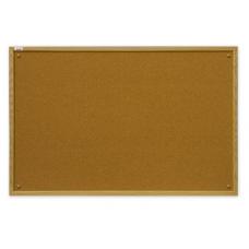 Доска пробковая в рамке MDF 150x100